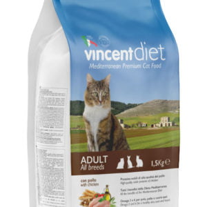 Vincent DIET ADULT CAT WITH CHICKEN