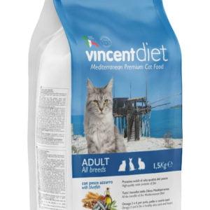 Vincent DIET ADULT CAT WITH BLUEFISH