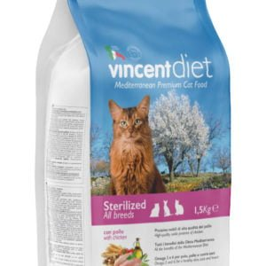 Vincent DIET STERILIZED CAT WITH CHICKEN