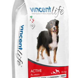 Vincent LIFE DOG ACTIVE WITH CHICKEN AND RICE